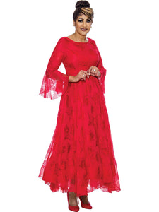 Red Dress, Dorinda Clark Cole DCC Rose Collection