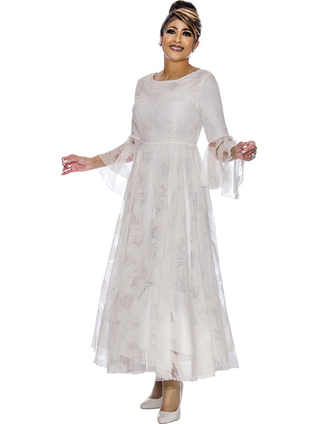 White Dress, Dorinda Clark Cole DCC Rose Collection