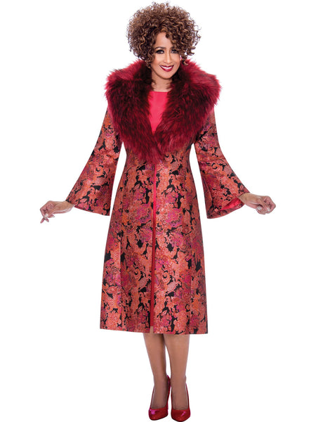 Red Jacket Dress, Dorinda Clark Cole DCC Rose Collection