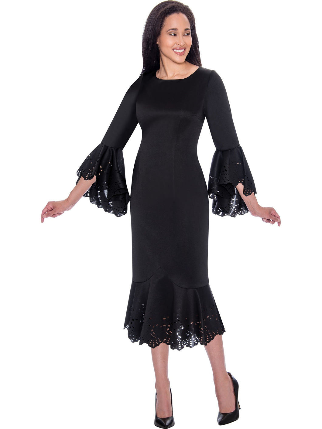 Black Church or Special Occasion Dress, Dresses by Nubiano