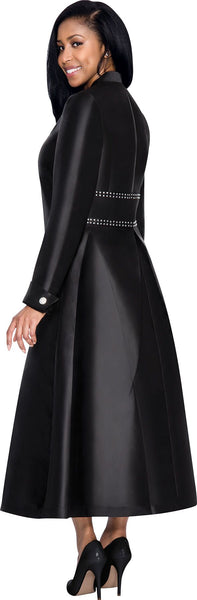 Black Robe Dress for Church, Choir, Clergy, Pastors, Priests, Groups