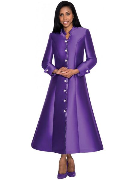 Purple Robe Dress for Church, Choir, Clergy, Pastors, Priests, Groups