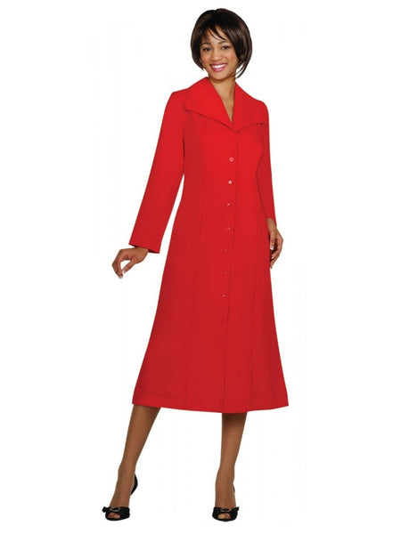 G11573 Red Usher Dress, Church, Choir, Group Uniform