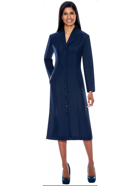 G11674 Navy Usher Dress, Church, Choir, Group Uniform