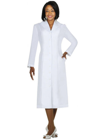 G11674 White Usher Dress, Church, Choir, Group Uniform