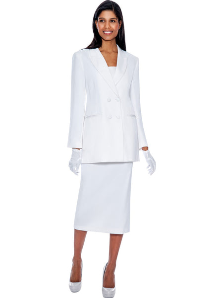 G12269 White Usher Suit, Church, Choir, Group Uniform