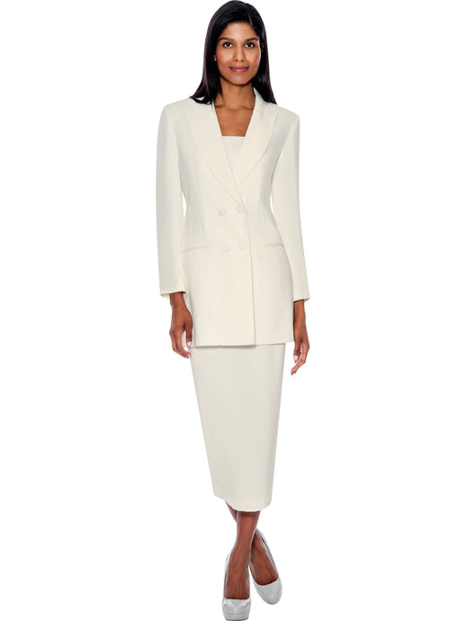 G12269 Ivory Usher Suit, Church, Choir, Group Uniform
