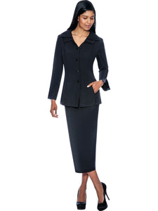 G12777 Black Usher Suit, Church, Choir, Group Uniform