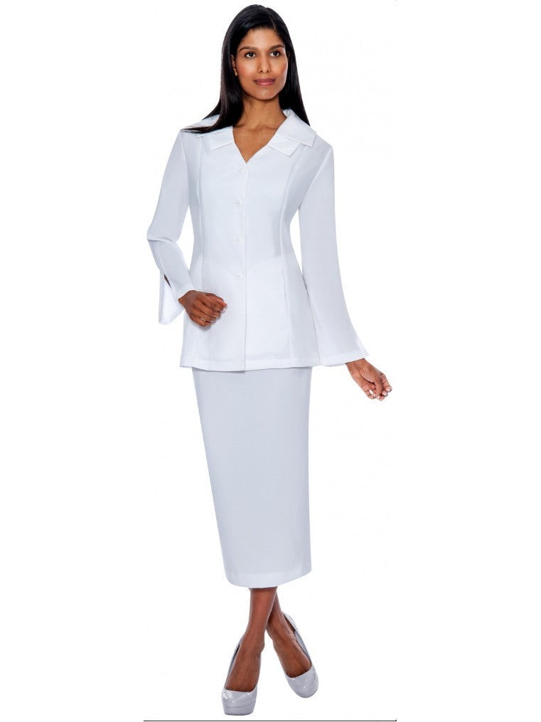 G12777 White Usher Suit, Church, Choir, Group Uniform