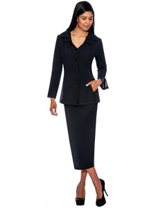 Black Usher Suit, Church, Choir, Group Uniform