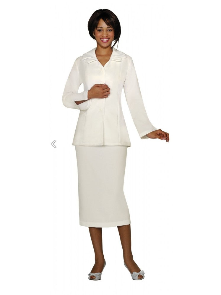 G12777 Ivory Usher Suit, Church, Choir, Group Uniform