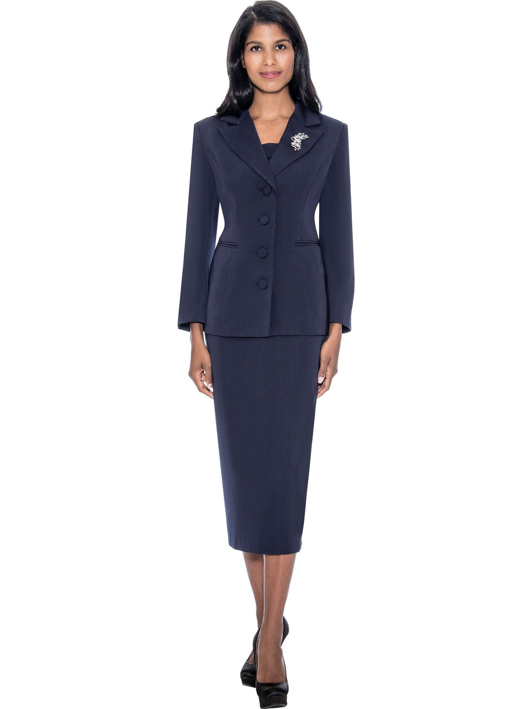 G13382 Navy Usher Suit, Church, Choir, Group Uniform