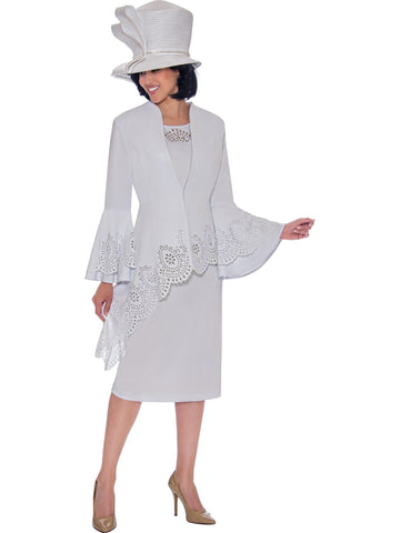 White Skirt Suit, Church Suit, Special Occasion Suit, Mother of the Bride