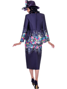 GMI G7483 Purple Church Suit, Special Occasion Skirt Suit, Mother of the Bride