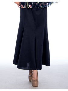 RC165 Navy Skirt - Church, Wedding, Holiday, Special Occasion