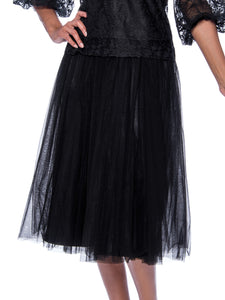 Rose Collection RC245 Black Skirt – Church, Wedding, Holiday, Special Occasion