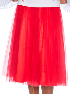Rose Collection RC245 Red Skirt – Church, Wedding, Holiday, Special Occasion
