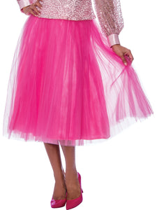 Rose Collection RC245 Pink Skirt – Church, Wedding, Holiday, Special Occasion