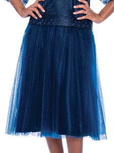 Rose Collection RC245 Royal Blue Skirt – Church, Wedding, Holiday, Special Occasion