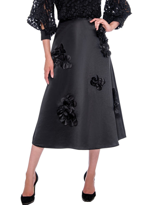 Rose Collection RC660 Black Skirt – Church, Wedding, Holiday, Special Occasion