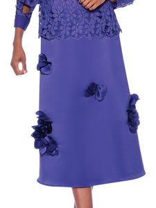 Rose Collection RC660 Purple Skirt – Church, Wedding, Holiday, Special Occasion