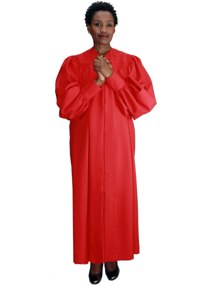 Red Unisex Robe for Church, Choir, Clergy, Pastors, Priests, Groups