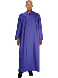 Purple Unisex Robe for Church, Choir, Clergy, Pastors, Priests, Groups