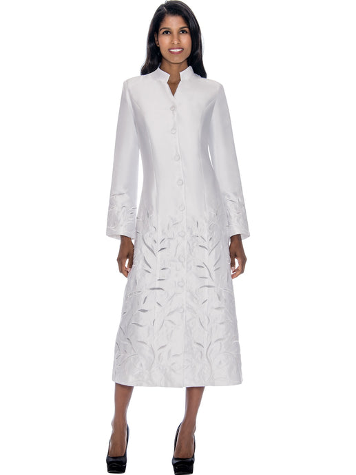 White Church Robe for Choir, Clergy, Pastors, Priests, Groups