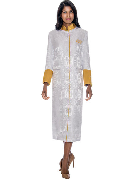 White Church Robe for Clergy, Pastors, Priests, Choir, Groups
