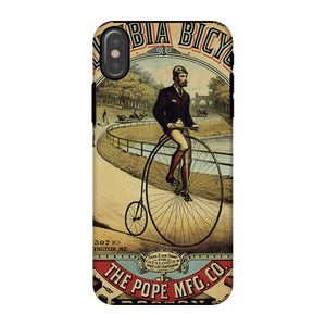 Columbia Bicycle Poster Phone Case