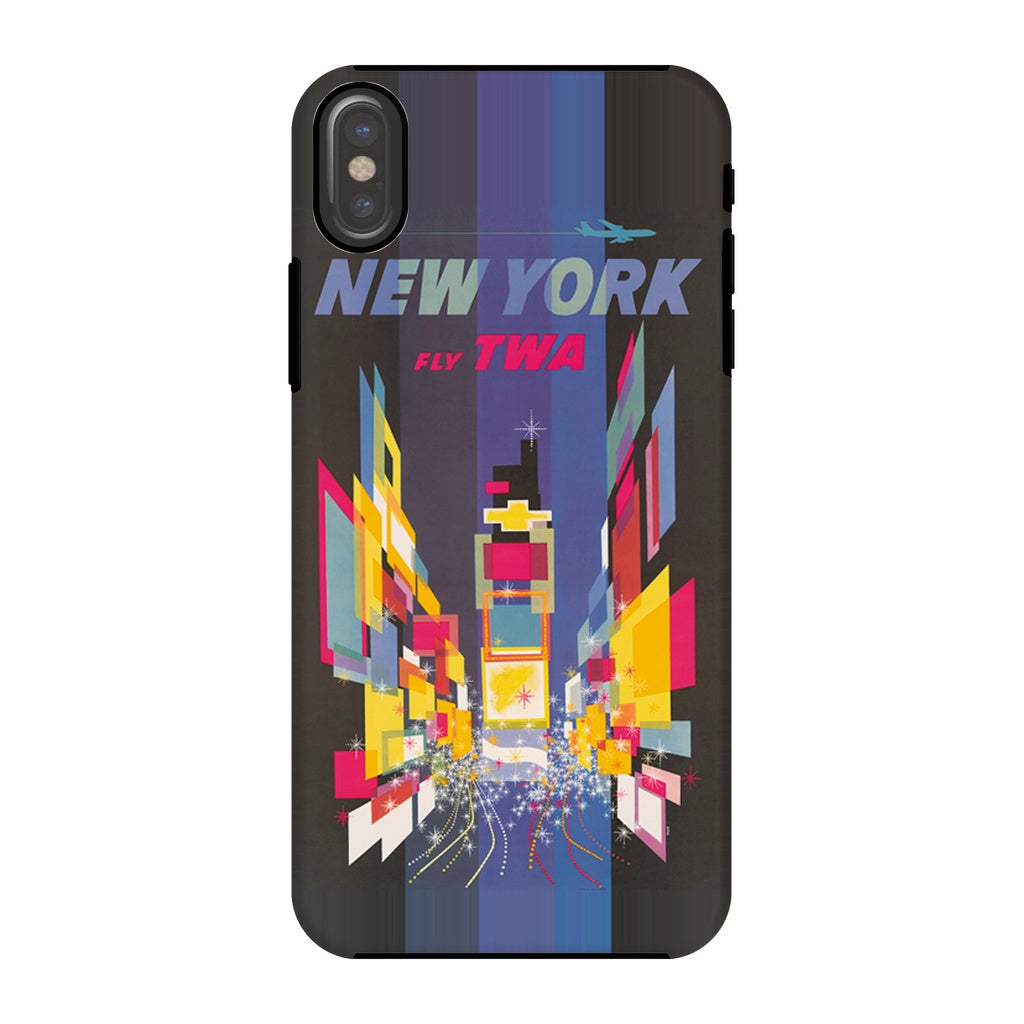 New York TWA Poster Phone Case