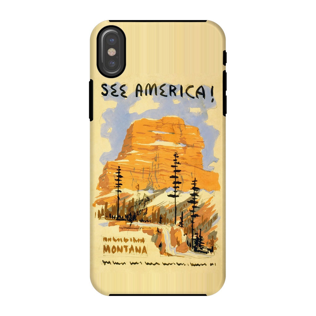 See America Poster Phone Case