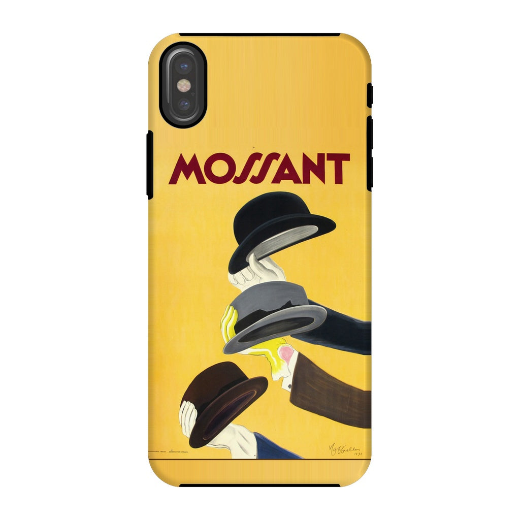 Mossant Poster Phone Case