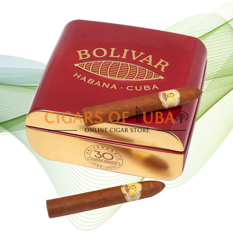 Bolivar Belicosos Finos 30 Aniversario 5th Avenue Jar - Cigars of Dubai