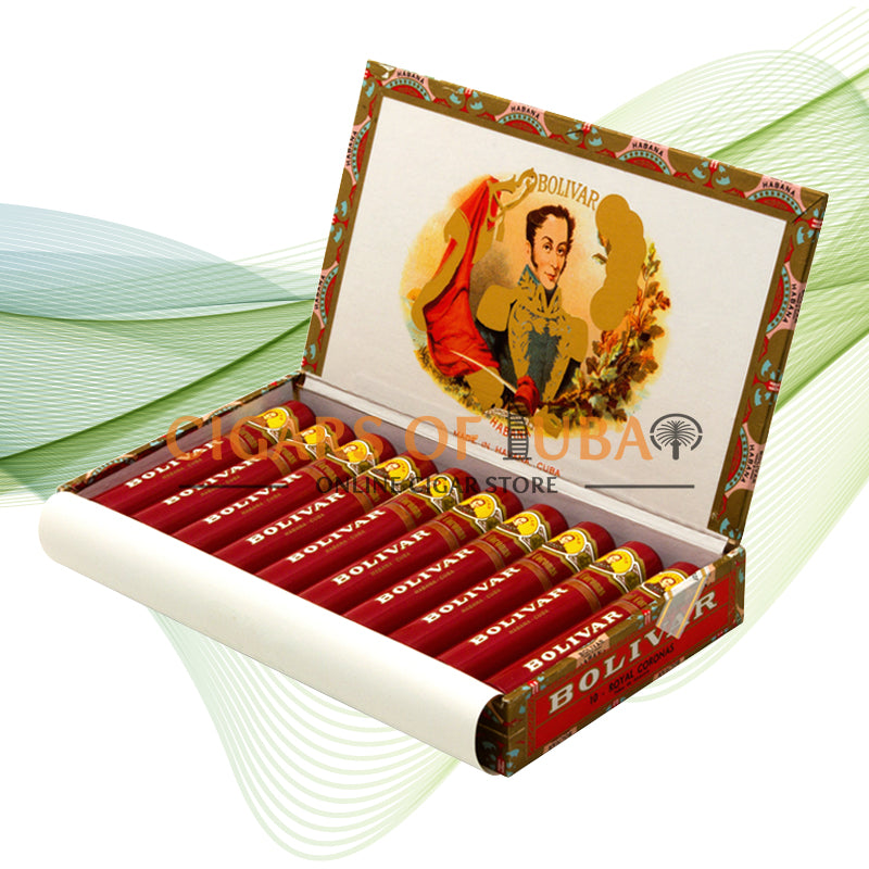 Bolivar Royal Coronas TUBOS - Cigars of Dubai