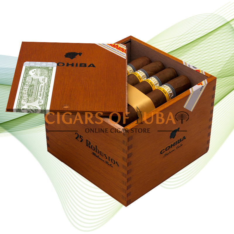 Cohiba Robustos - Cigars of Dubai