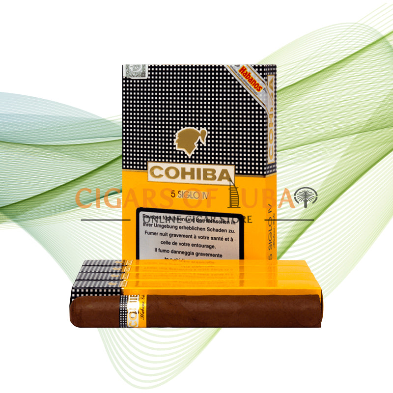 Cohiba Siglo IV (5x5 Packs) - Cigars of Dubai