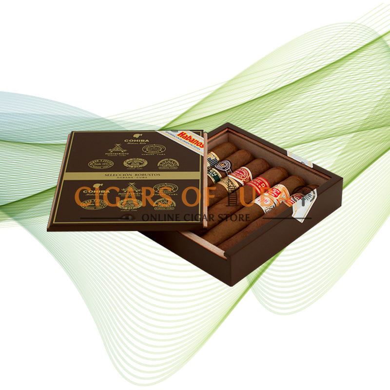 Combinaciones Seleccion Robustos 2016 - Cigars of Dubai