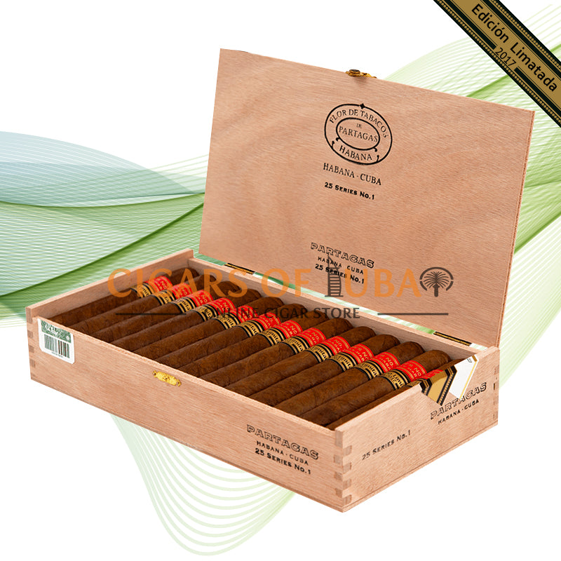 Partagas Series No. 1 Edicion Limitada 2017 - Cigars of Dubai