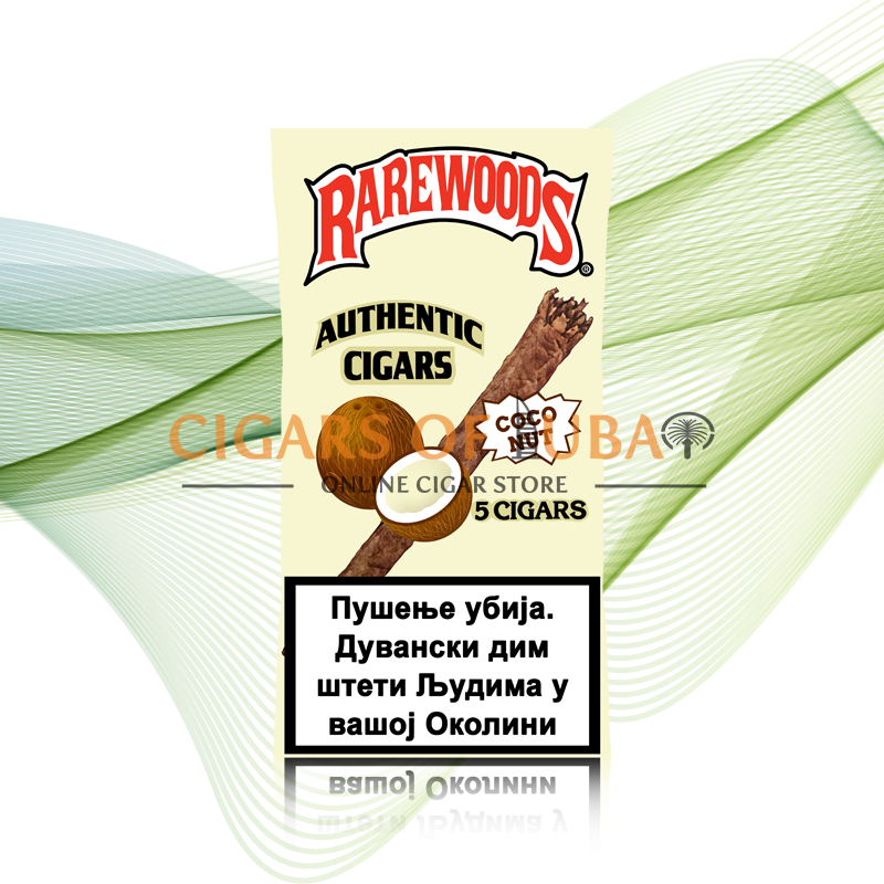 Rarewoods Coconut Cigars - Cigars of Dubai