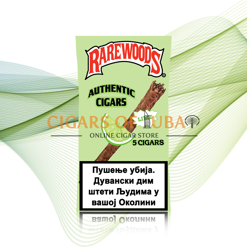 Rarewoods Lime Cigars - Cigars of Dubai