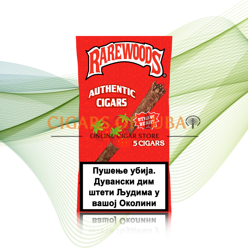 Rarewoods Strawberry Cigars - Cigars of Dubai