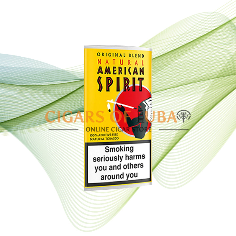 American Spirit Yellow 30g - Cigars of Dubai