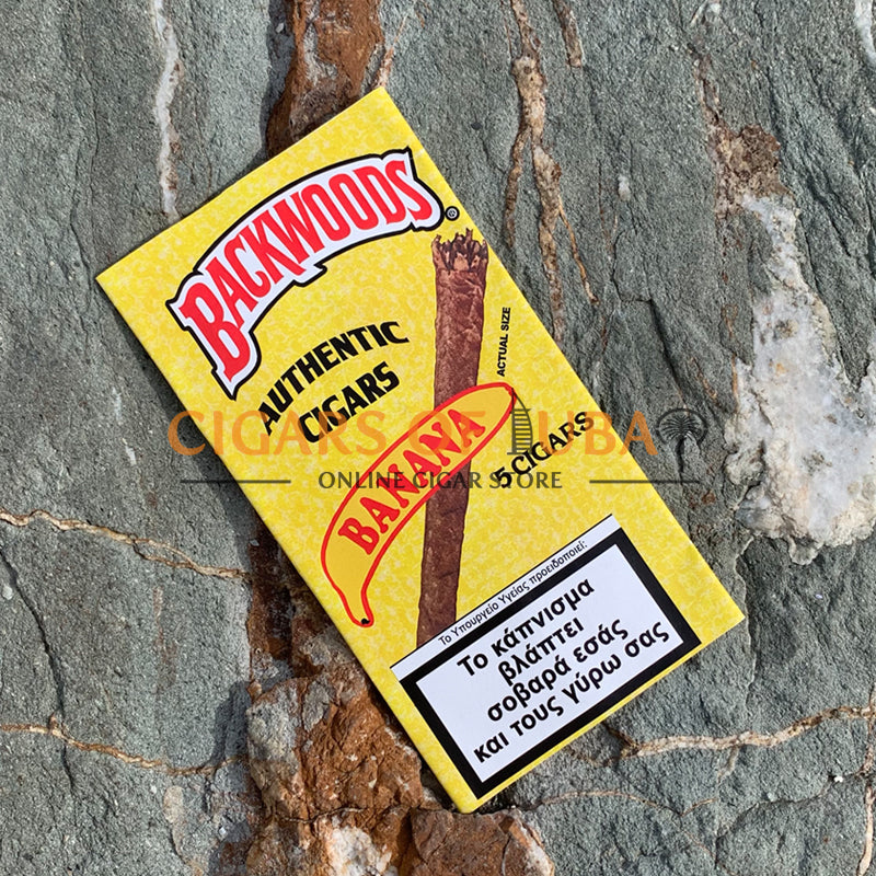 Backwoods Banana Cigars (Discontinued) - Cigars of Dubai