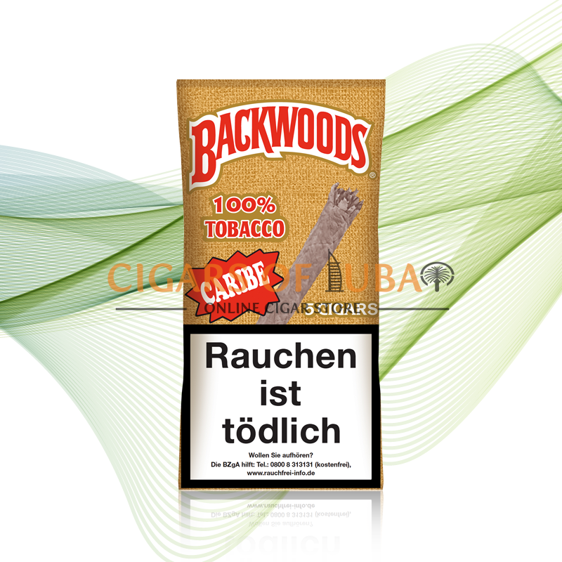 Backwoods Caribe (Wild Rum) Cigars - Cigars of Dubai