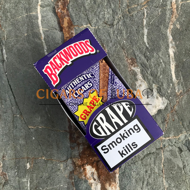 Backwoods Grape Cigars (Rare) - Cigars of Dubai