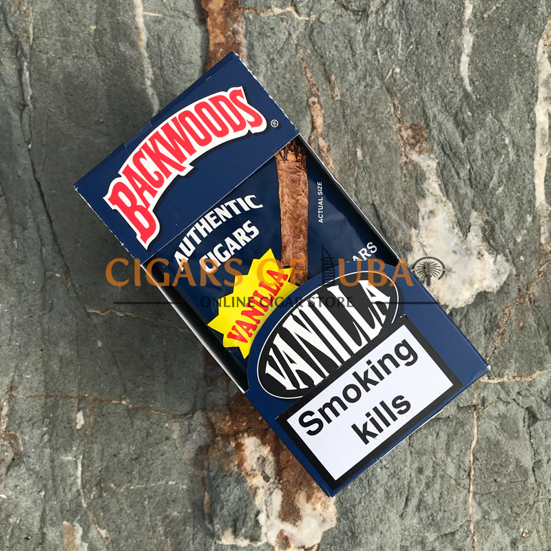 Backwoods Vanilla Cigars (Rare) - Cigars of Dubai