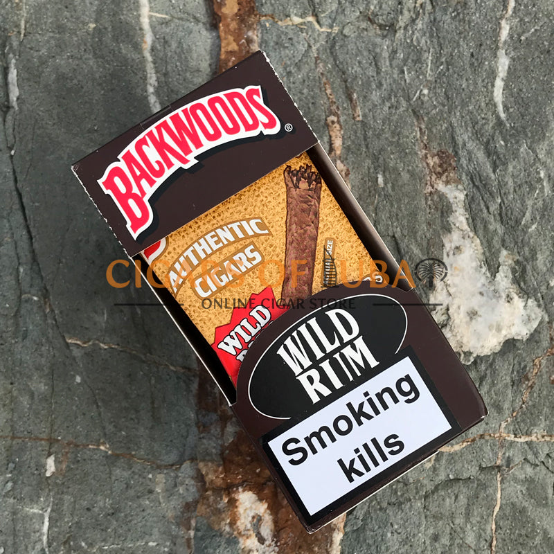 Backwoods Wild Rum Cigars (Discontinued) - Cigars of Dubai