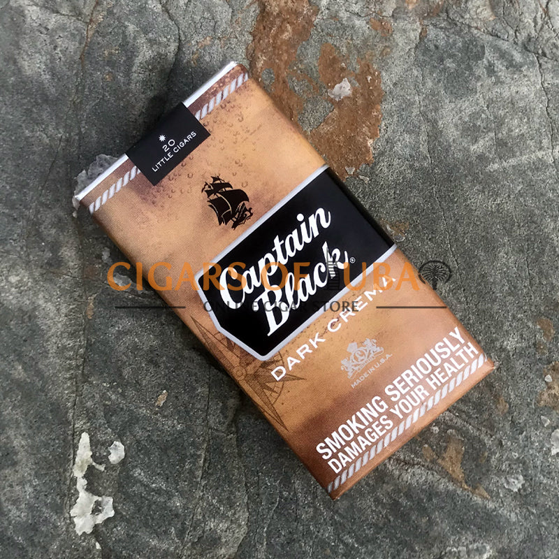 Captain Black Dark Crema Little Cigars - Cigars of Dubai
