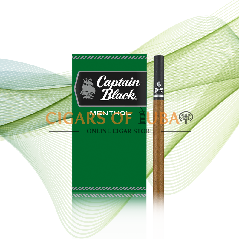 Captain Black Menthol Little Cigars - Cigars of Dubai